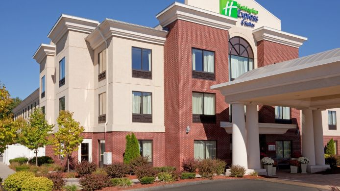 Exterior view Holiday Inn Express & Suites MANCHESTER-AIRPORT