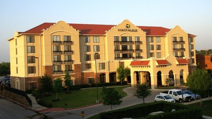 Buitenaanzicht Hyatt Place Ft Worth Historic Stockyards