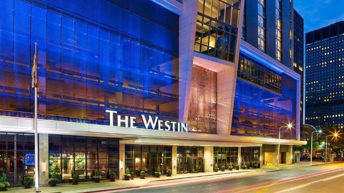 Buitenaanzicht The Westin Cleveland Downtown