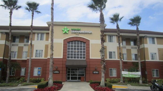 Exterior view EXTENDED STAY AMERICA UNIVERSL
