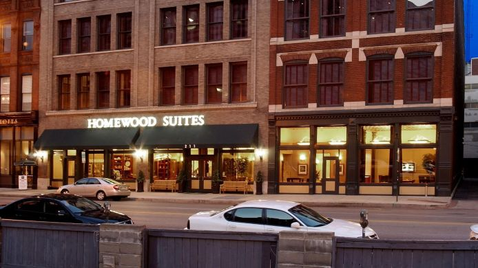 Buitenaanzicht Homewood Suites by Hilton Indianapolis-Downtown