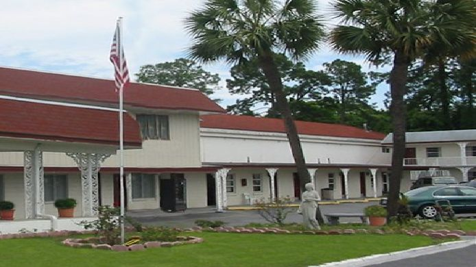 Buitenaanzicht Scottish Inns Panama City