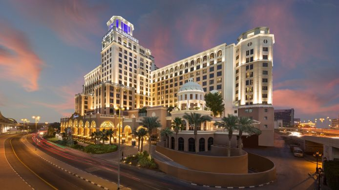 Exterior view Kempinski Hotel Mall of the Emirates