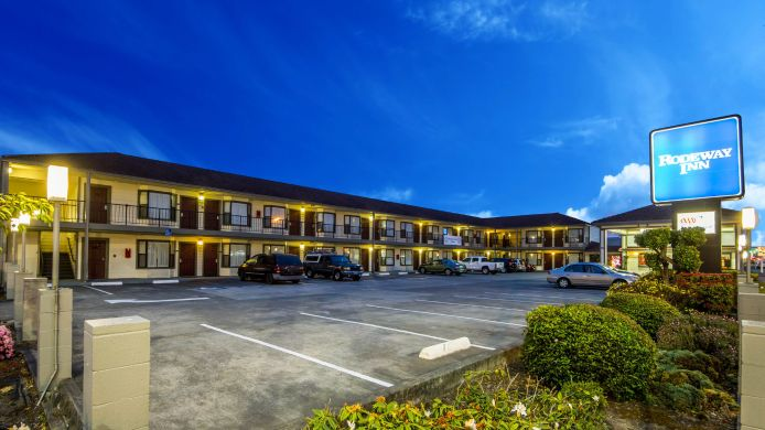 Exterior view Rodeway Inn Humboldt Bay - Redwood Area