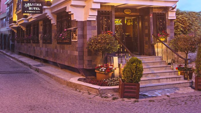 Exterior view Almina Hotel Istanbul Special Class