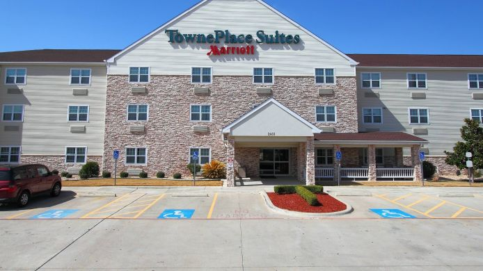 Exterior view TownePlace Suites Killeen