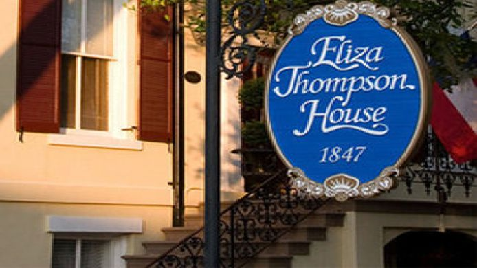Exterior view Eliza Thompson House
