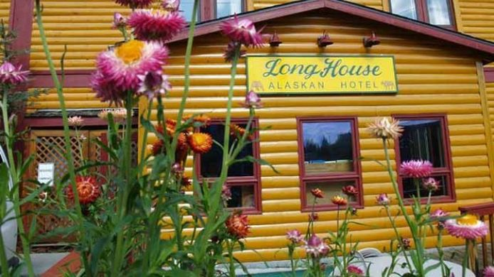 Exterior view Long House Alaskan Hotel - Anchorage