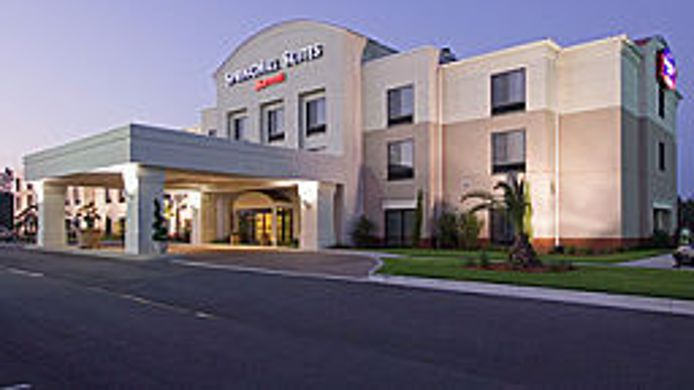 Exterior view SpringHill Suites Savannah I-95 South