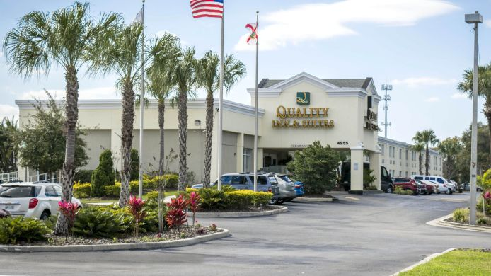 Exterior view Quality Inn & Suites Near Fairgrounds Ybor City