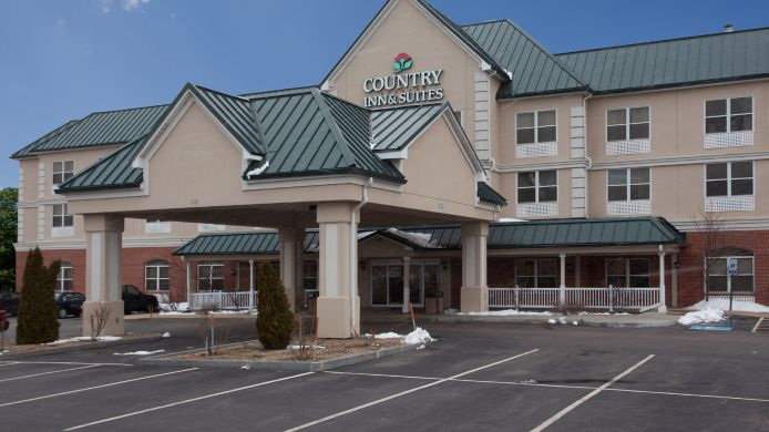 Buitenaanzicht COUNTRY INN SUITES BROCKTON