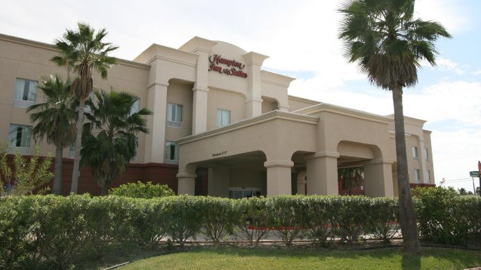 Buitenaanzicht Hampton Inn and Suites-Brownsville
