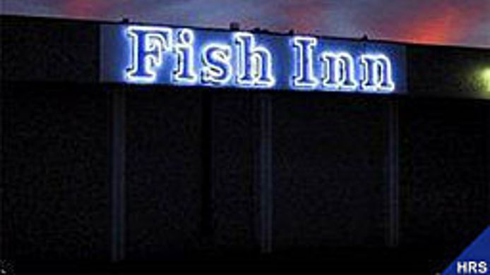 Exterior view Fish Inn Omro