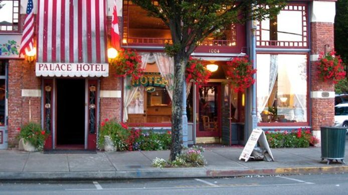 Exterior view PALACE HOTEL PORT TOWNSEND