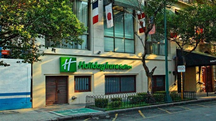Exterior view Holiday Inn Hotel & Suites MEXICO ZONA ROSA