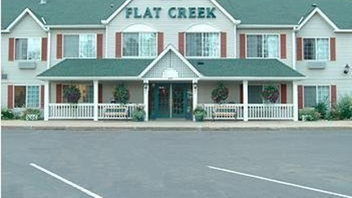 Exterior view FLAT CREEK INN AND