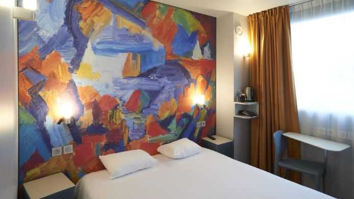 Doppelzimmer Standard Torcy  Hôtel Codalysa The Originals City (ex Inter-Hotel)
