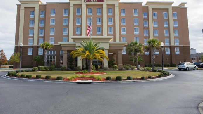 Buitenaanzicht Hampton Inn - Suites Savannah - I-95 South - Gateway
