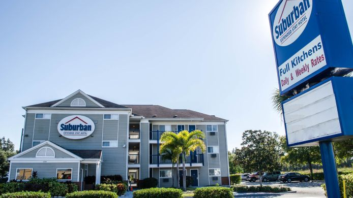 Buitenaanzicht Suburban Extended Stay Hotel Clearwater
