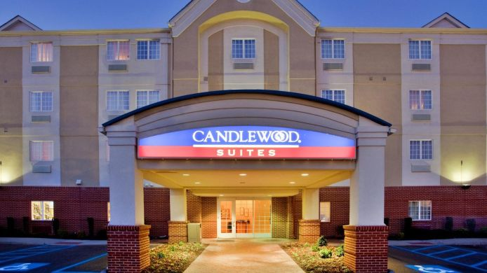 Exterior view Candlewood Suites VIRGINIA BEACH/NORFOLK
