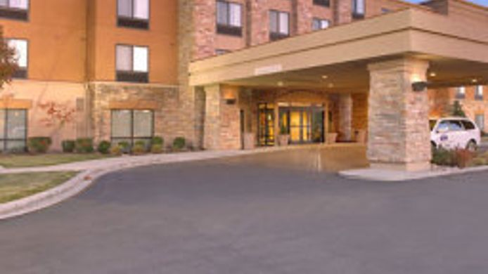 Exterior view SpringHill Suites Salt Lake City Downtown