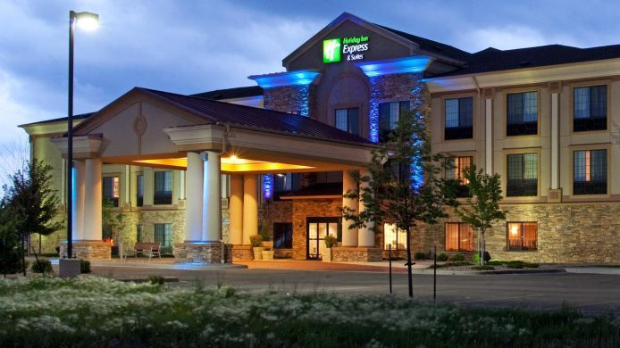 Exterior view Holiday Inn Express & Suites LONGMONT
