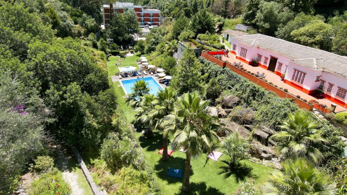 Buitenaanzicht Villa Termal das Caldas de Monchique Spa Resort