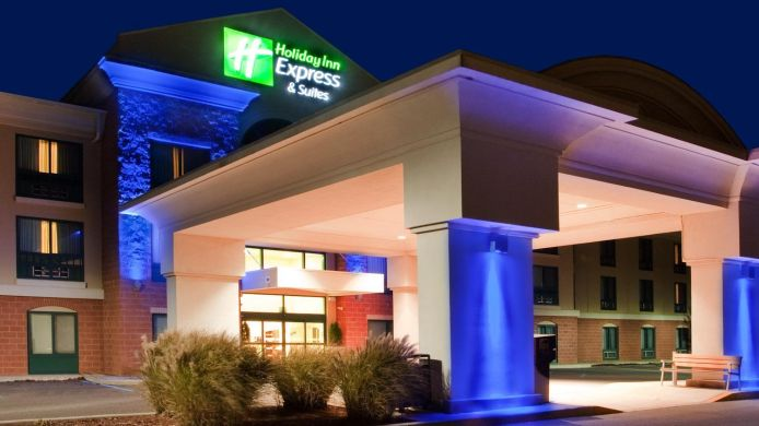 Exterior view Holiday Inn Express & Suites DRUMS-HAZLETON (I-80)