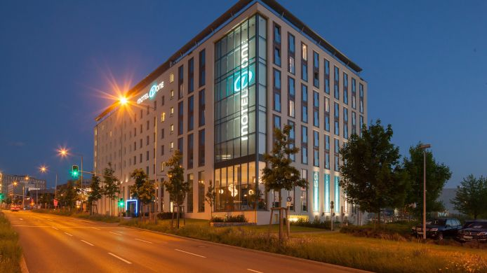 Exterior view Motel One Feuerbach