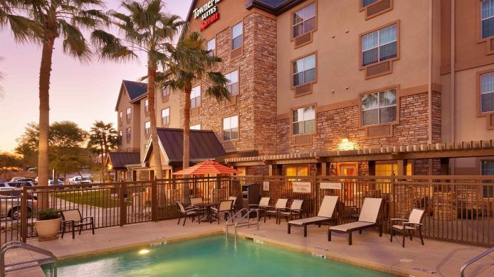 Buitenaanzicht TownePlace Suites Yuma