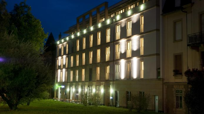 Buitenaanzicht Holiday Inn Express BADEN - BADEN