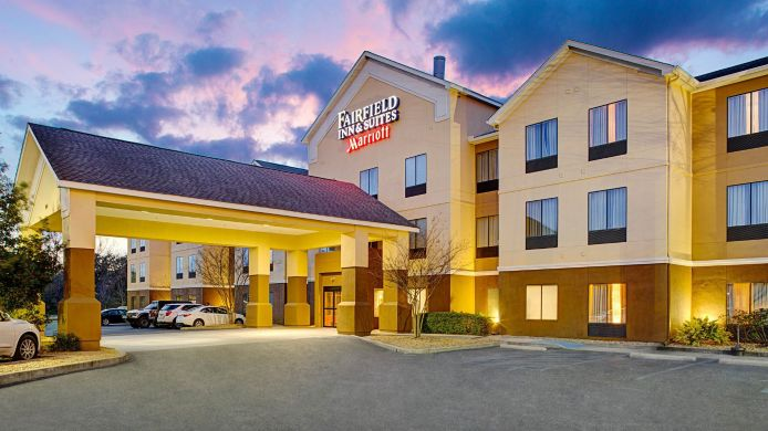 Buitenaanzicht Fairfield Inn & Suites Lafayette South
