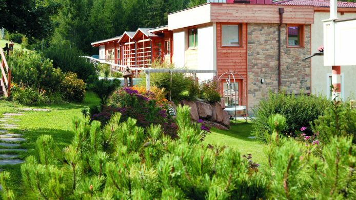 Tuin Hotel Albion ****s Mountain Resort