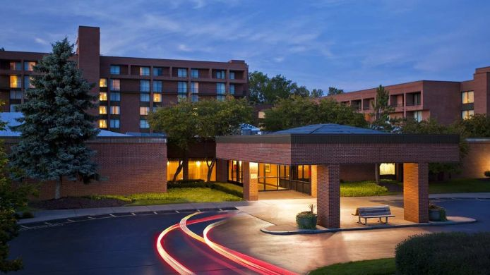Buitenaanzicht DoubleTree by Hilton Syracuse