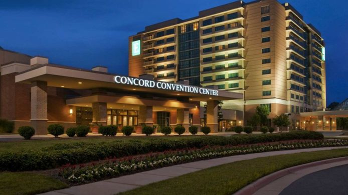 Exterior view Embassy Suites by Hilton Charlotte-Concord-Golf Resort - Spa