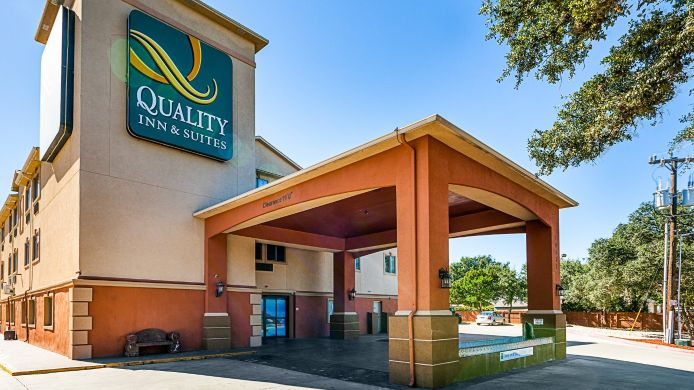 Buitenaanzicht Quality Inn & Suites SeaWorld North