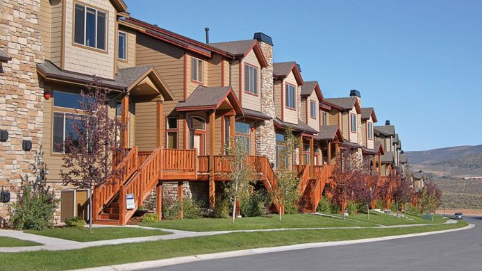 Exterior view Bear Hollow Village