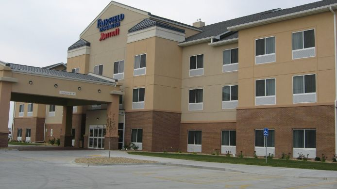Buitenaanzicht Fairfield Inn & Suites Ames