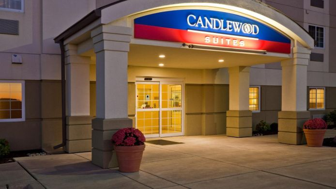 Exterior view Candlewood Suites PEORIA AT GRAND PRAIRIE