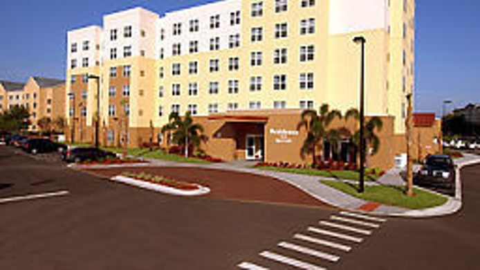 Exterior view Residence Inn Orlando Airport