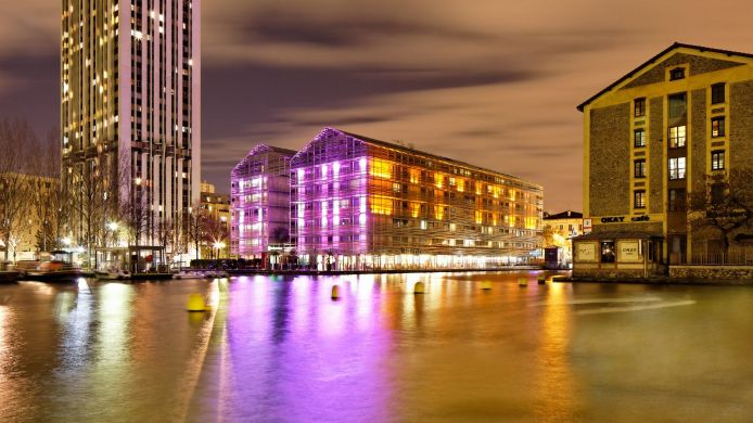 Exterior view Holiday Inn Express PARIS - CANAL DE LA VILLETTE