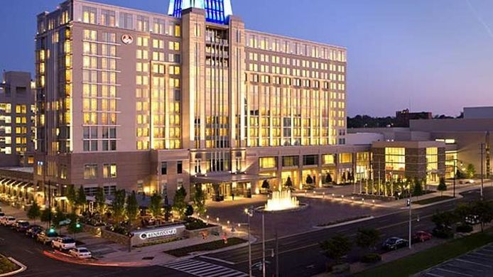 Exterior view Renaissance Montgomery Hotel & Spa at the Convention Center