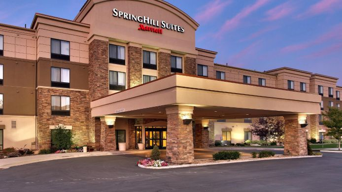 Buitenaanzicht SpringHill Suites Lehi at Thanksgiving Point