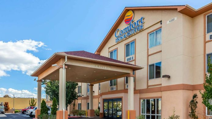Exterior view Comfort Inn & Suites Airport Convention Center