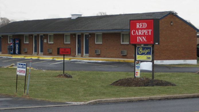 Exterior view RED CARPET INN ALLENTOWN HAUSMAN ROAD