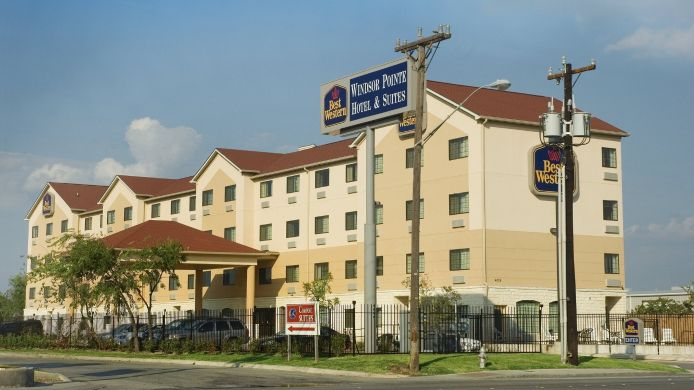 Buitenaanzicht BEST WESTERN WINDSOR POINTE