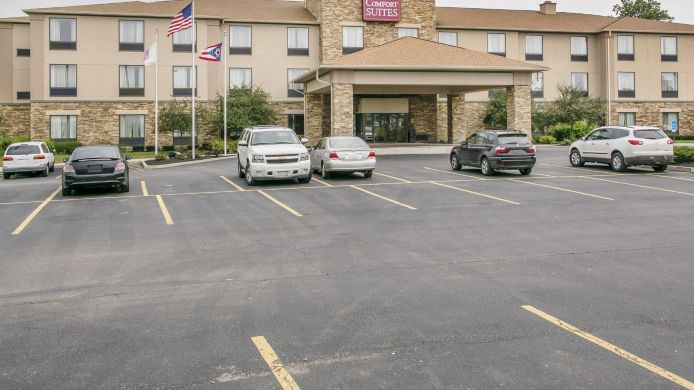 Exterior view Comfort Suites Wright Patterson