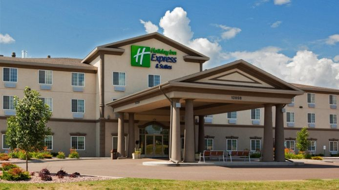 Buitenaanzicht Holiday Inn Express & Suites EAU CLAIRE NORTH