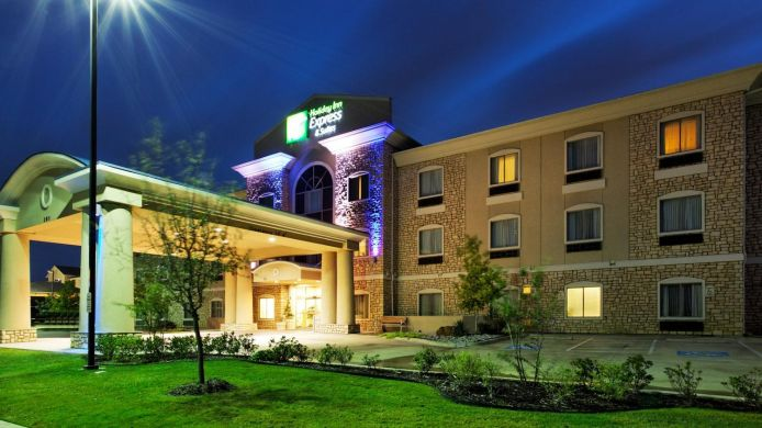 Buitenaanzicht Holiday Inn Express & Suites MANSFIELD