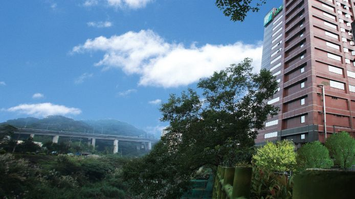 Exterior view Holiday Inn EAST TAIPEI